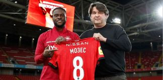 Victor Moses has joined Spartak Moscow on a permanent deal