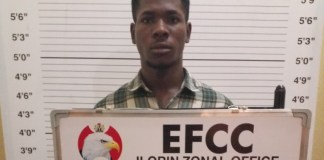 Udoh Sunday Okon was jailed for $500 Facebook scam