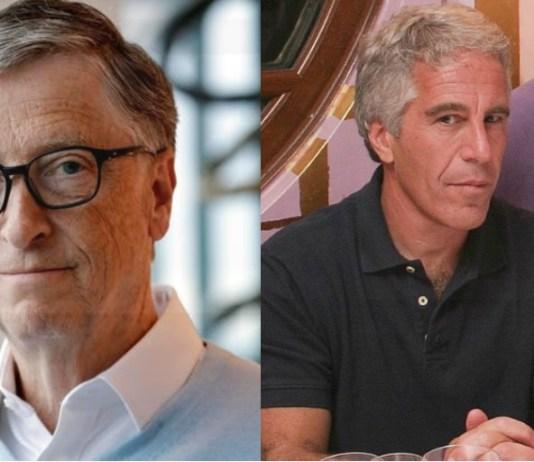 Bill Gates and Jeffery Epstein