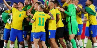 Brazil retain their Olympic gold title
