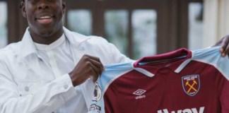 Kurt Zouma joins West Ham