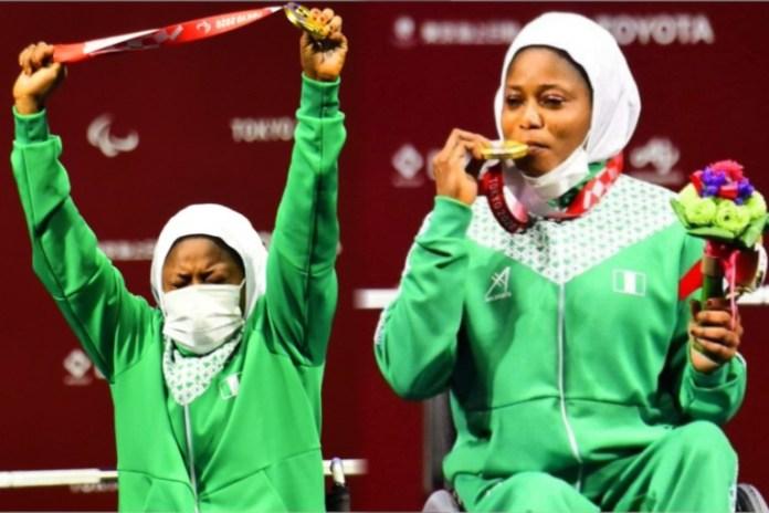 Latifat Tijani wins gold medal for Nigeria