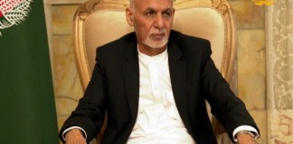 Outsted President of Afghanistan Ashraf Ghani