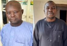Zanna Modu Ajimi and Yusuf Abdulkarim Galtimari were both sentenced to one year imprisonment in MAiduguri