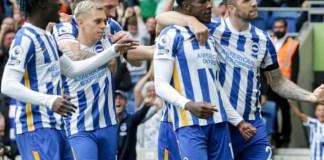 Brighton beat Leicester City