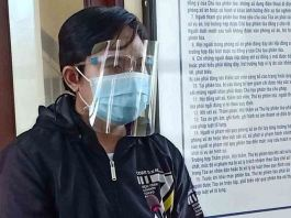A court found Le Van Tri guilty of transmitting dangerous infectious COVID diseases