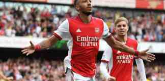 Aubameyang inspired Arsenal's first win this season