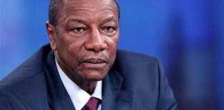 Guniea President Alpha Condé