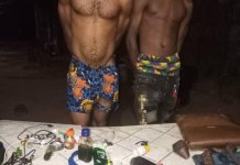 Jidechi Akakem, 26, and Chibuike Ibeukwu, 18 were arrested by the Imo Police Command for kidnapping