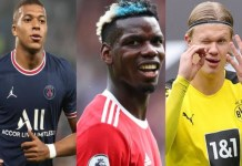 Real Madrid is interested in Kylian Mbappe, Erling Haaland and Paul Pogba
