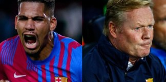 Ronald Araujo rescued Barca with a late equaliser, as Koeman's job remains uncertain
