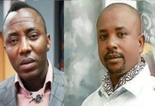 Omoyele Sowore and his younger brother