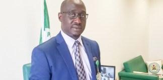 Agbom Jarigbe has been sworn in as Cross River North Senator