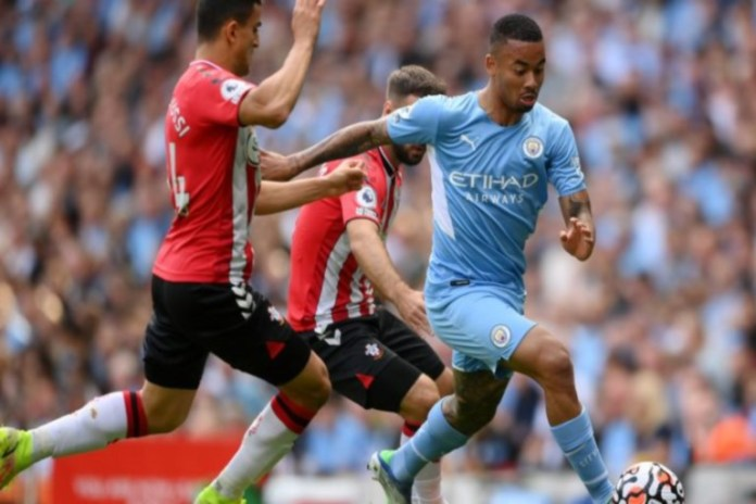 Manchester City were held to a goalless draw by Southampton
