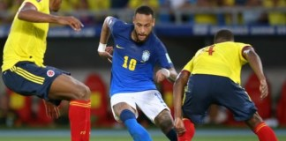 Brazil reached a stalemate with Colombia