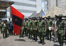 Chief of Army Staff, Lieutenant General Faruk Yahaya flags off army exercises