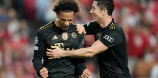 Leroy Sane was directly involved in three out of Bayern's four goals