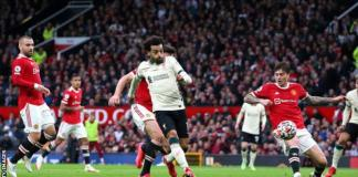 Mohamed Salah became the first away player to score a hat-trick at Old Trafford for more than 18 years