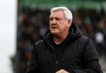 Steve Bruce has left Newcastle United by mutual consent