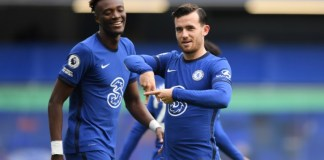 Tammy Abraham and Ben Chilwell