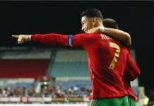 Ronaldo broke Ali Daei's record last month to be the highest goal scorer in Men's international football