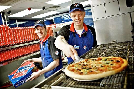 A Domino's Pizza venue