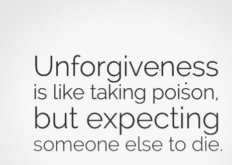 Unforgiveness, who does it really hurt?