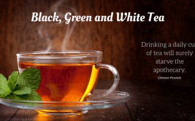 Black, Green, and White Tea
