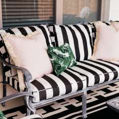 Ballard Designs Dining Chair Cushions Sears Chairs And Recliners Our Patio Before After With Chronicles