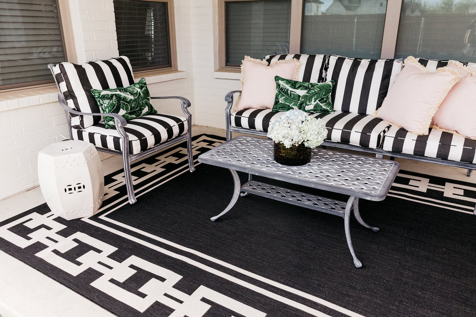 ballard designs dining chair cushions bedroom types our patio before and after with chronicles
