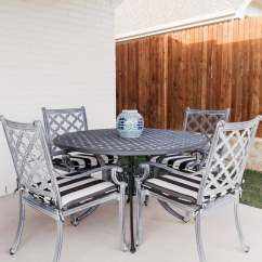 Ballard Designs Dining Chair Cushions Home Studio Richmond Chairs Our Patio Before And After With Chronicles