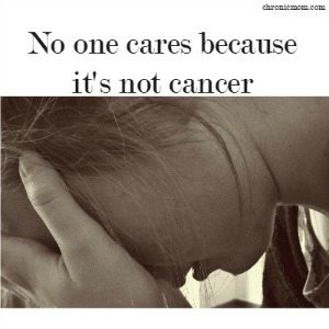no one cares it's not cancer