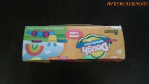 opening playdoh with the nimble