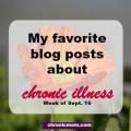 my favorite chronic illness blog posts