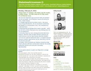Diabetesaliciousness Blog