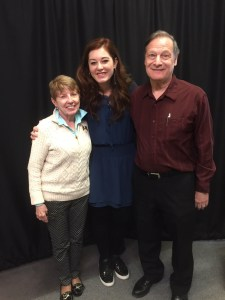 Kathy, Mandy Harvey, John