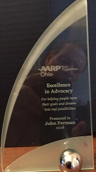 John Ferman 2018 AARP Volunteer Award