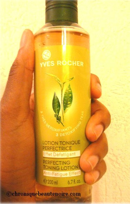 lotion perfectrice Yves Rocher