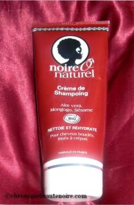 shampoing noire Ô naturel