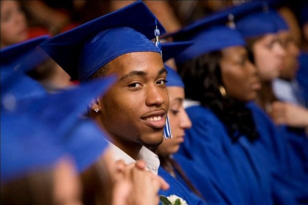 black men graduate