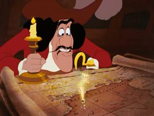 Le Capitaine Crochet  Chronique Disney  Portrait Personnage Mchant