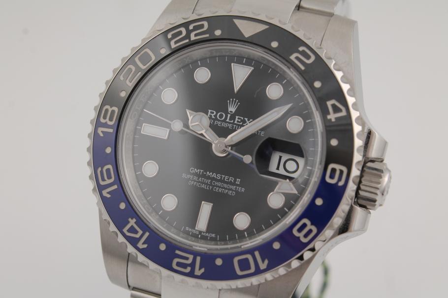 Rolex GMT-Master-II-Ref.-116710BLNR - Chronometrie Pietzner