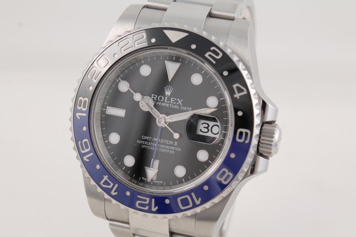 Rolex GMT-Master-Ref.-116710blnr- - Chronometrie Pietzner