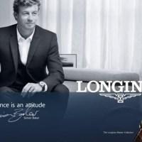 O Simon Baker είναι ο ambassador της Longines