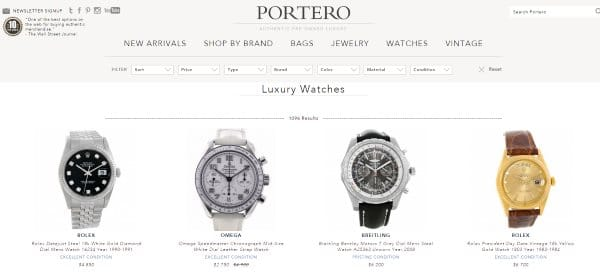 Ventes privées de montres et déstockages horlogers