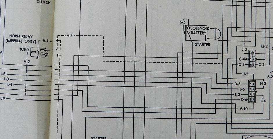 chrysler 300 wiring diagrams 2000 acura tl radio diagram 1960-1962 horns and steering column