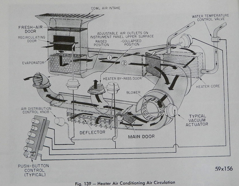 1964 Chrysler 300 Vacuum Diagram. Chrysler. Auto Wiring