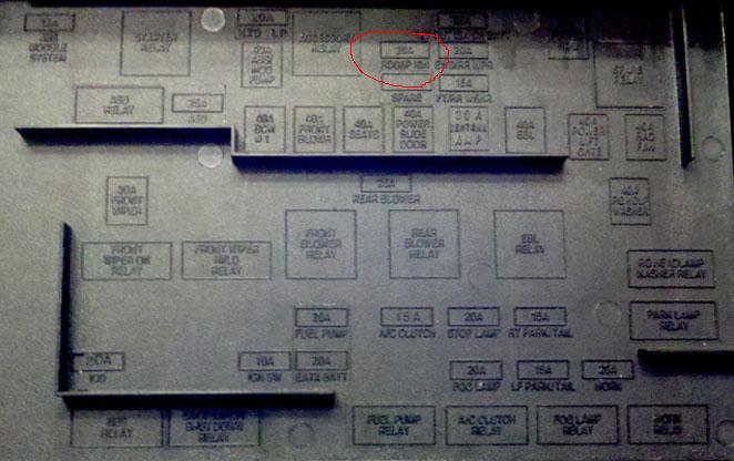 2006 chrysler sebring fuse box diagram residential electrical panel wiring 2005 t&c radio has no power - forum enthusiast forums