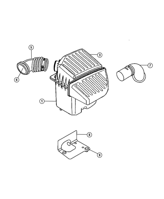 medium resolution of 2007 chrysler pt cruiser filter crankcase vent located