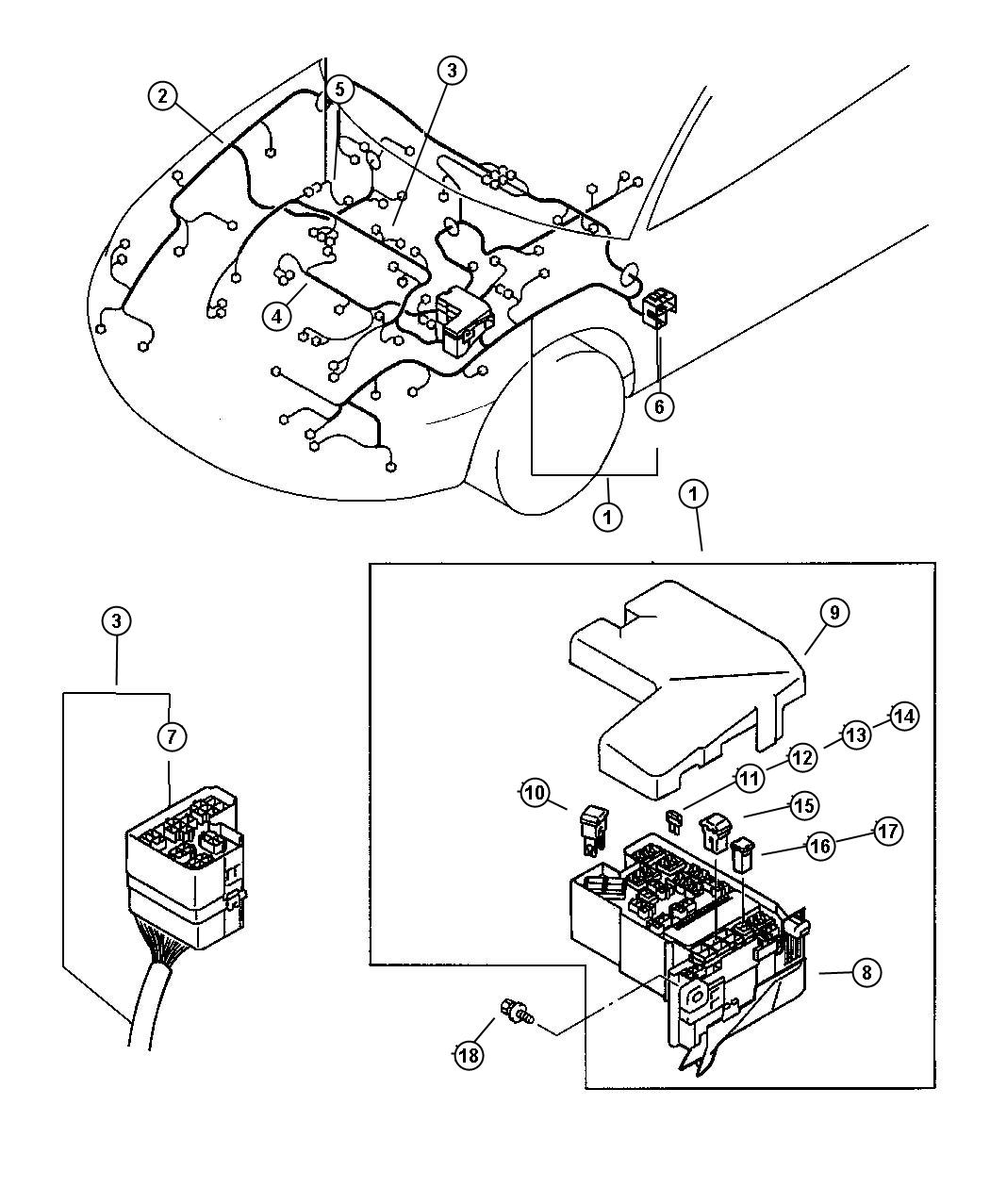 wiring diagram for 2000 chrysler sebring